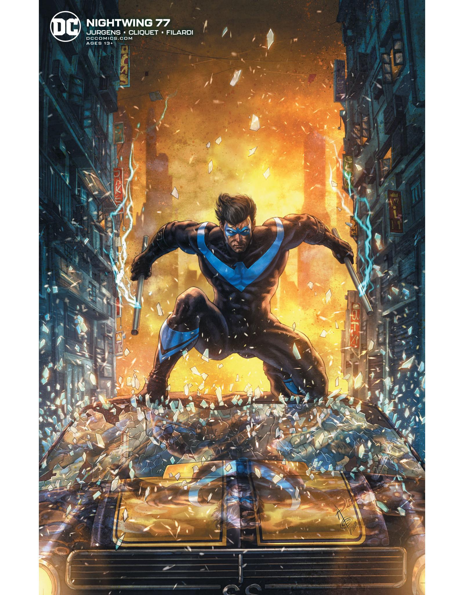DC Comics NIGHTWING #77 CVR B ALAN QUAH VAR