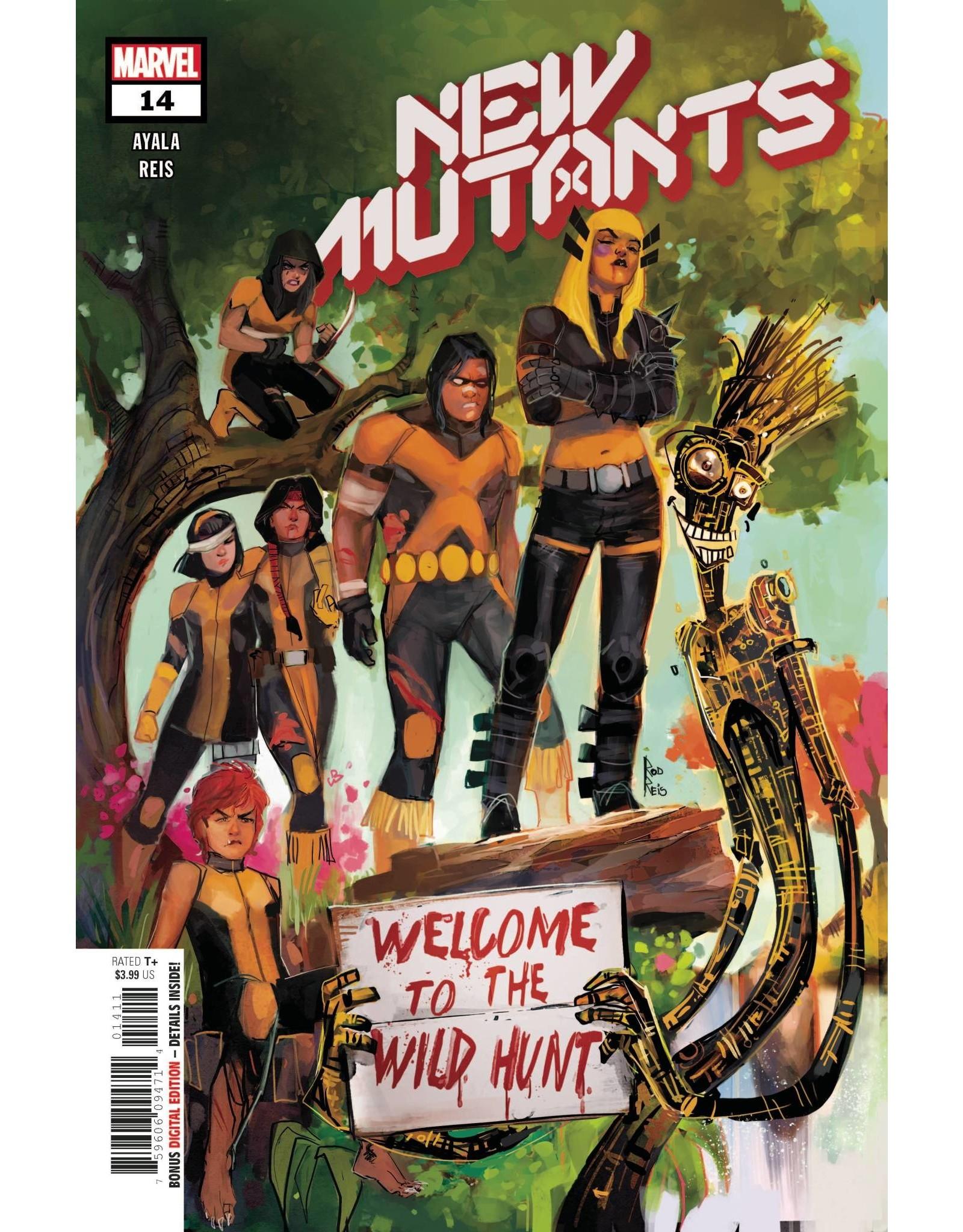 Marvel Comics NEW MUTANTS #14