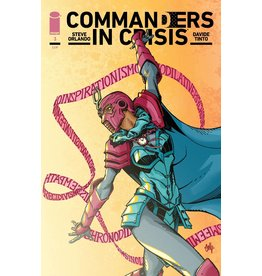 Image Comics COMMANDERS IN CRISIS #3 (OF 12) CVR B HAMNER (MR)