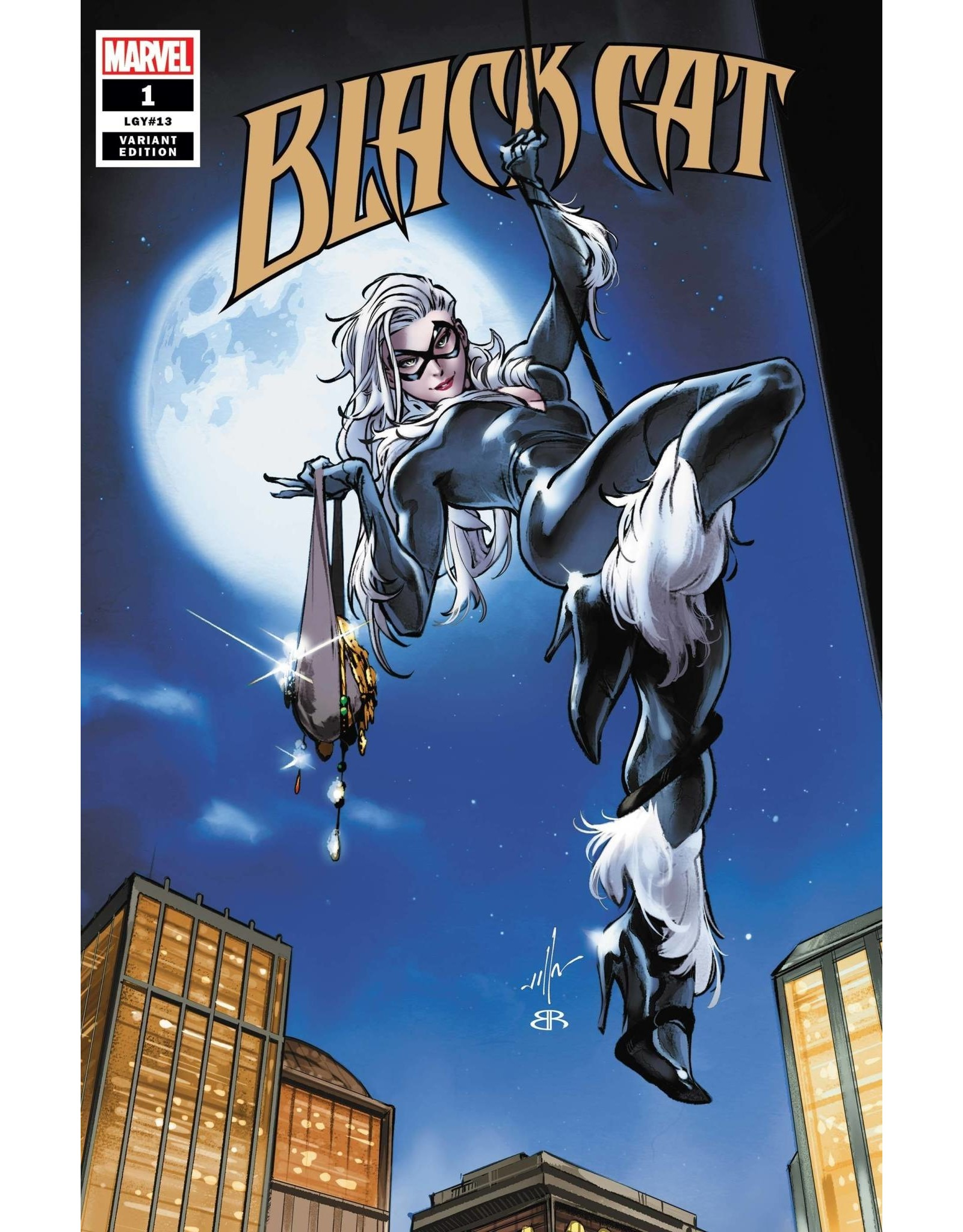 Marvel Comics BLACK CAT #1 VILLA VAR KIB