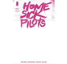 HOME SICK PILOTS #1 CVR D 25 COPY INCV PINK NEON BLANK VAR (