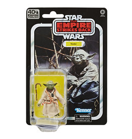 Hasbro Star Wars The Black Series Yoda 6-Inch Action Figure with Accessories