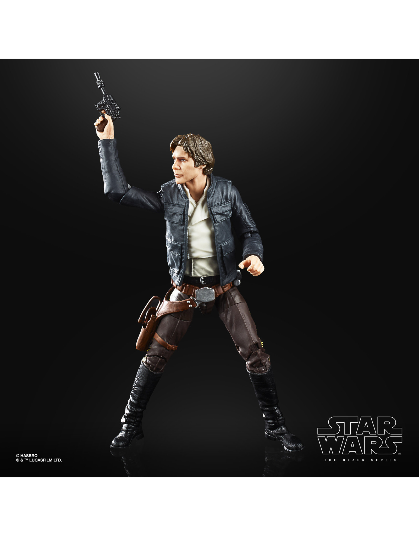 Hasbro Star Wars the Black Series Han Solo (Bespin) Toy Action Figure, Accessory