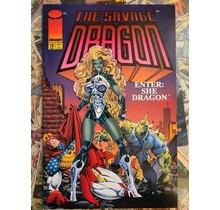 SAVAGE DRAGON #12 1ST SHE DRAGON VF