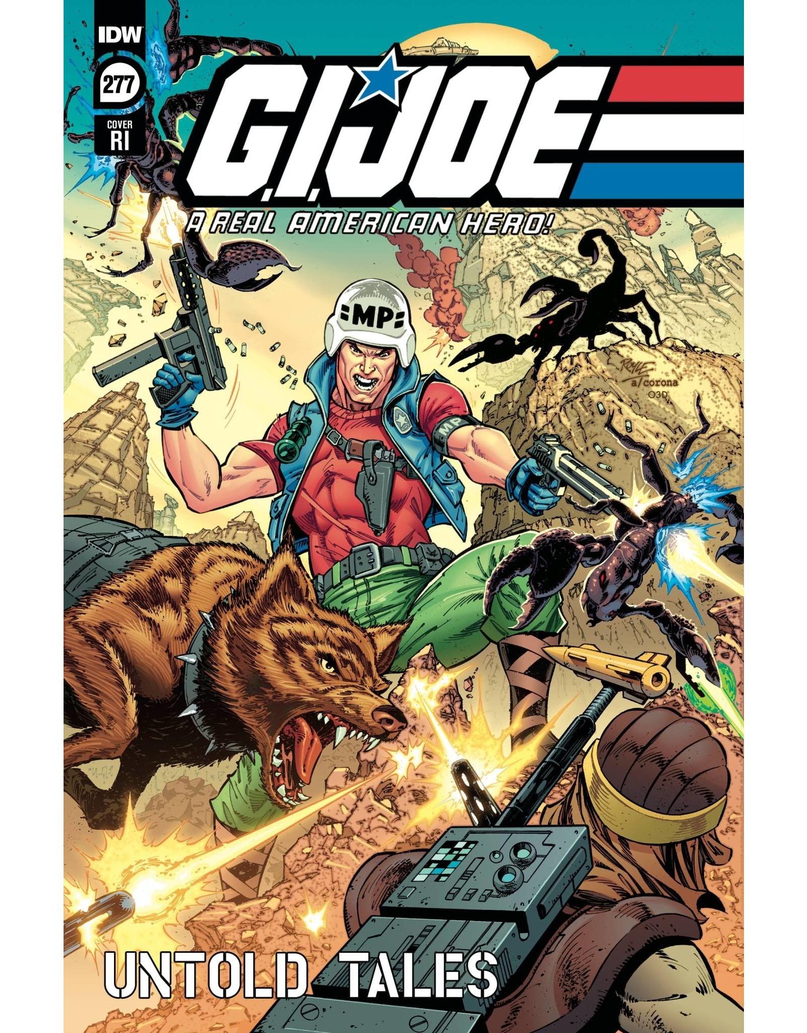 IDW PUBLISHING GI JOE A REAL AMERICAN HERO #277 1:10 ROYLE Var