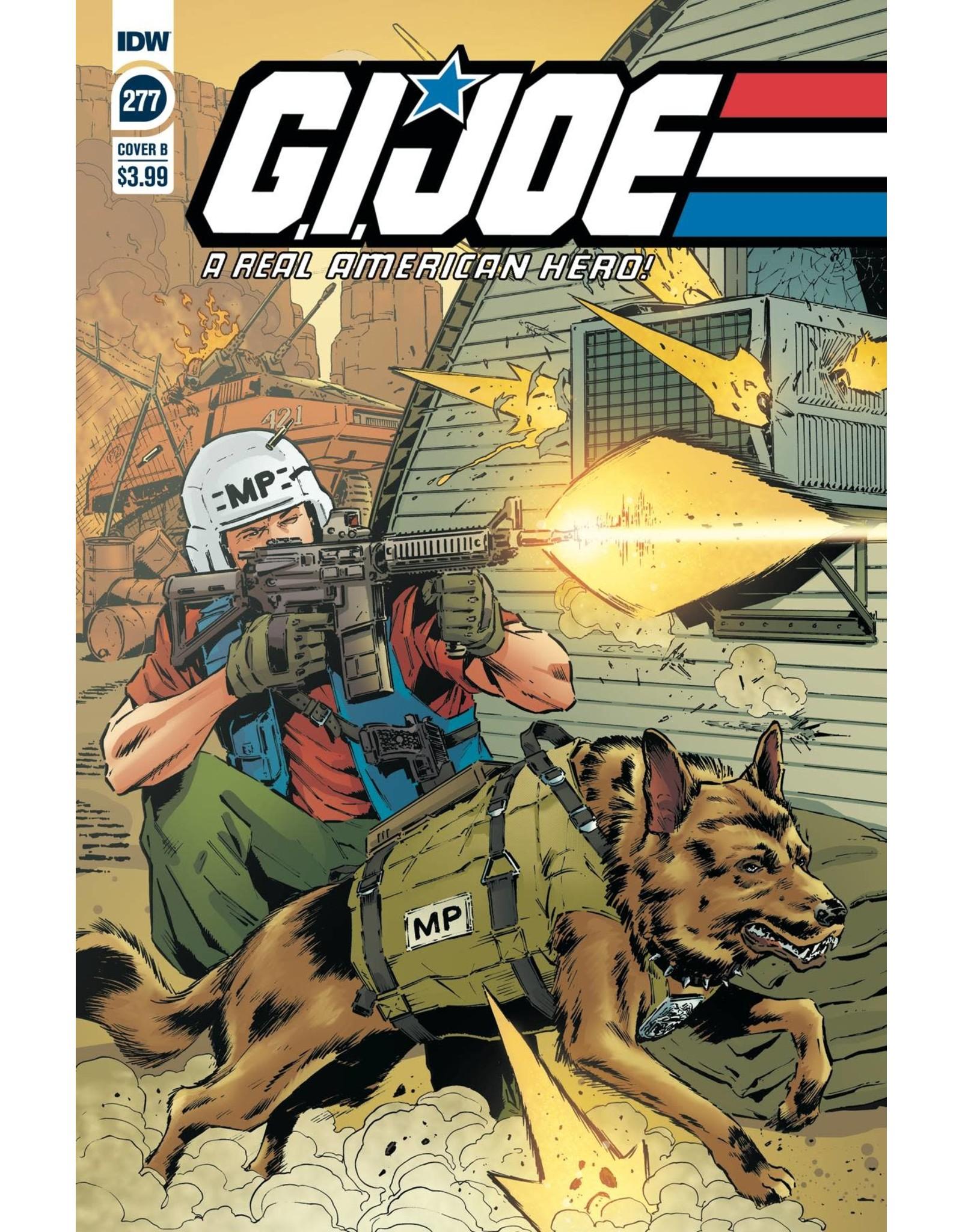 IDW PUBLISHING GI JOE A REAL AMERICAN HERO #277 CVR B SL GALLANT