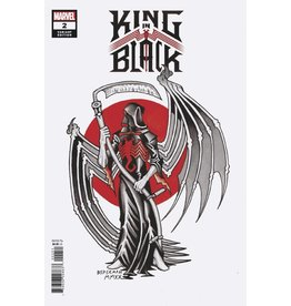 Marvel Comics KING IN BLACK #2 (OF 5) BEDERMAN TATTOO VAR
