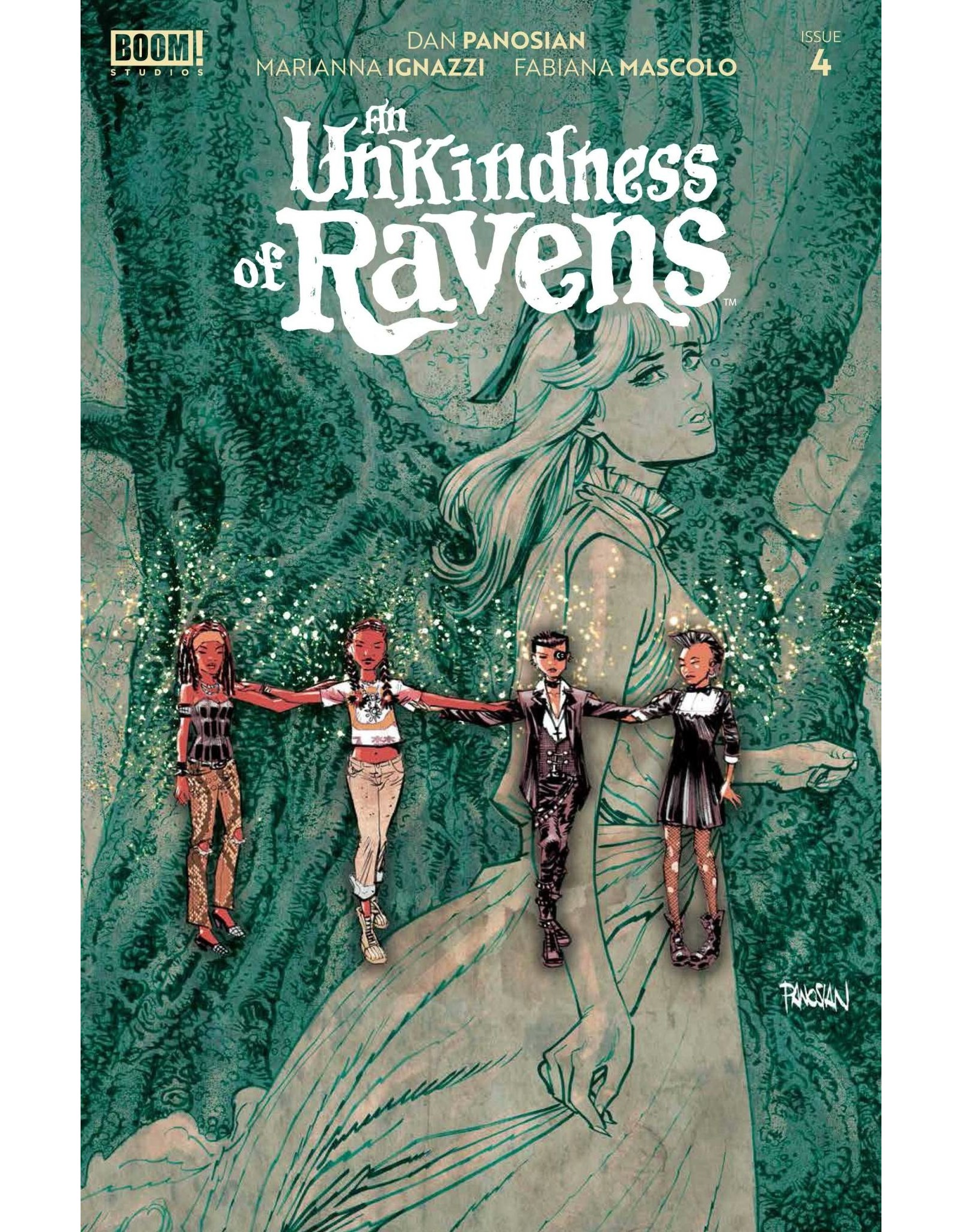Boom! Studios UNKINDNESS OF RAVENS #4 (OF 4) CVR A MAIN