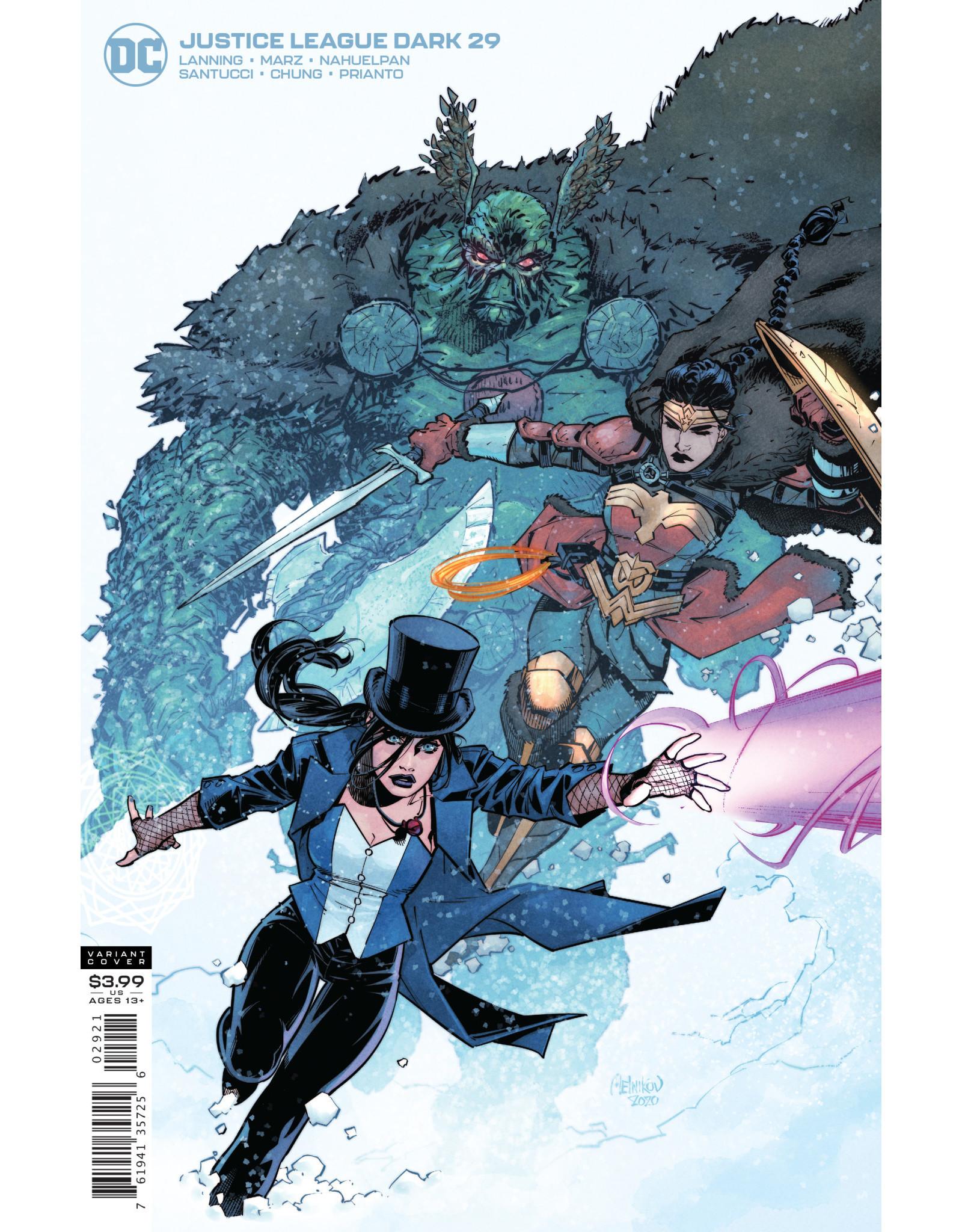 DC Comics JUSTICE LEAGUE DARK #29 CVR B GLEB MELNIKOV VAR (ENDLESS WINTER)