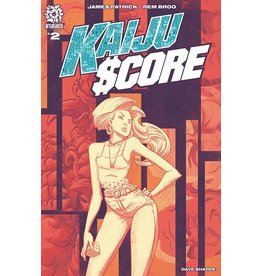 AFTERSHOCK COMICS KAIJU SCORE #2