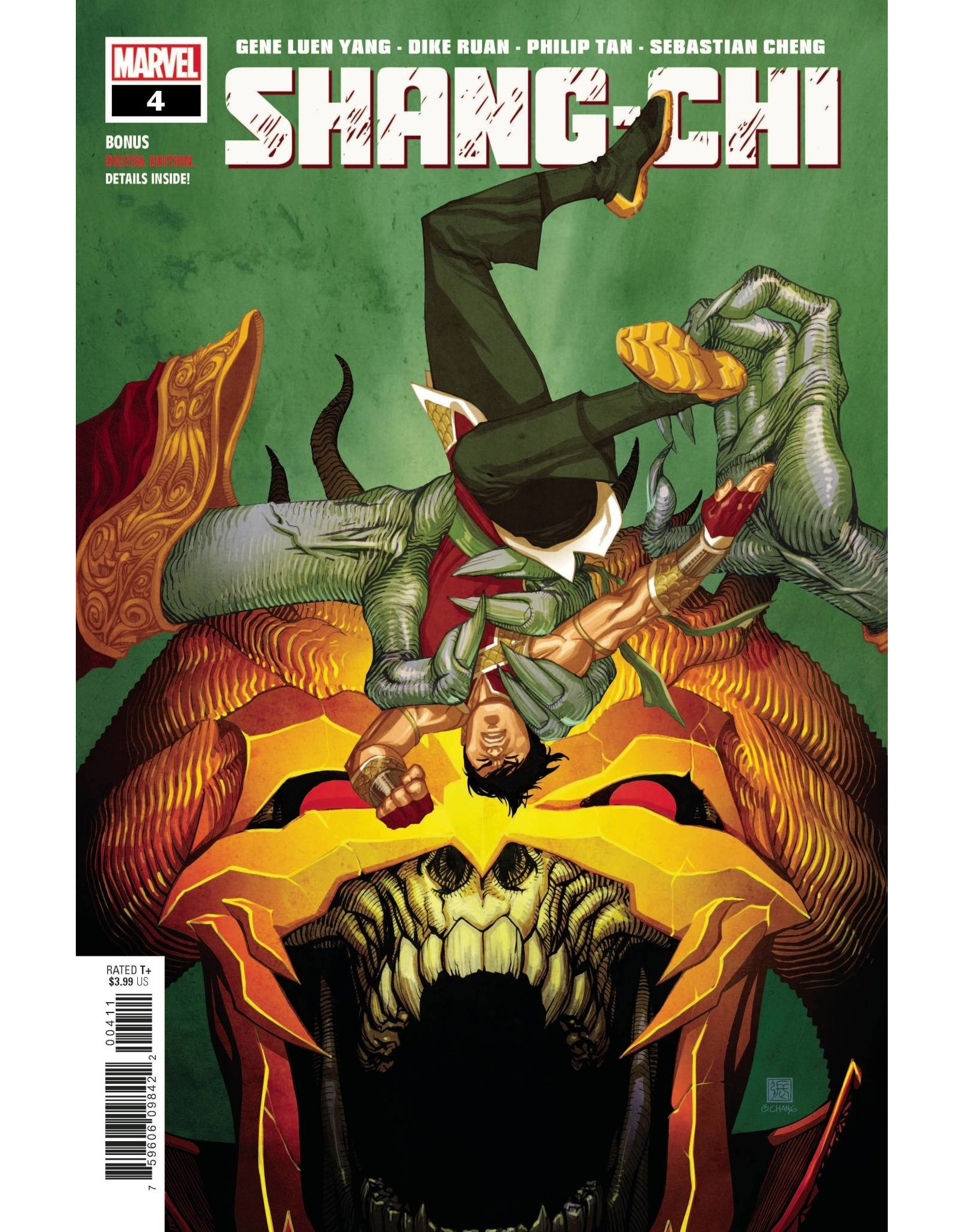 Marvel Comics SHANG-CHI #4 (OF 5)