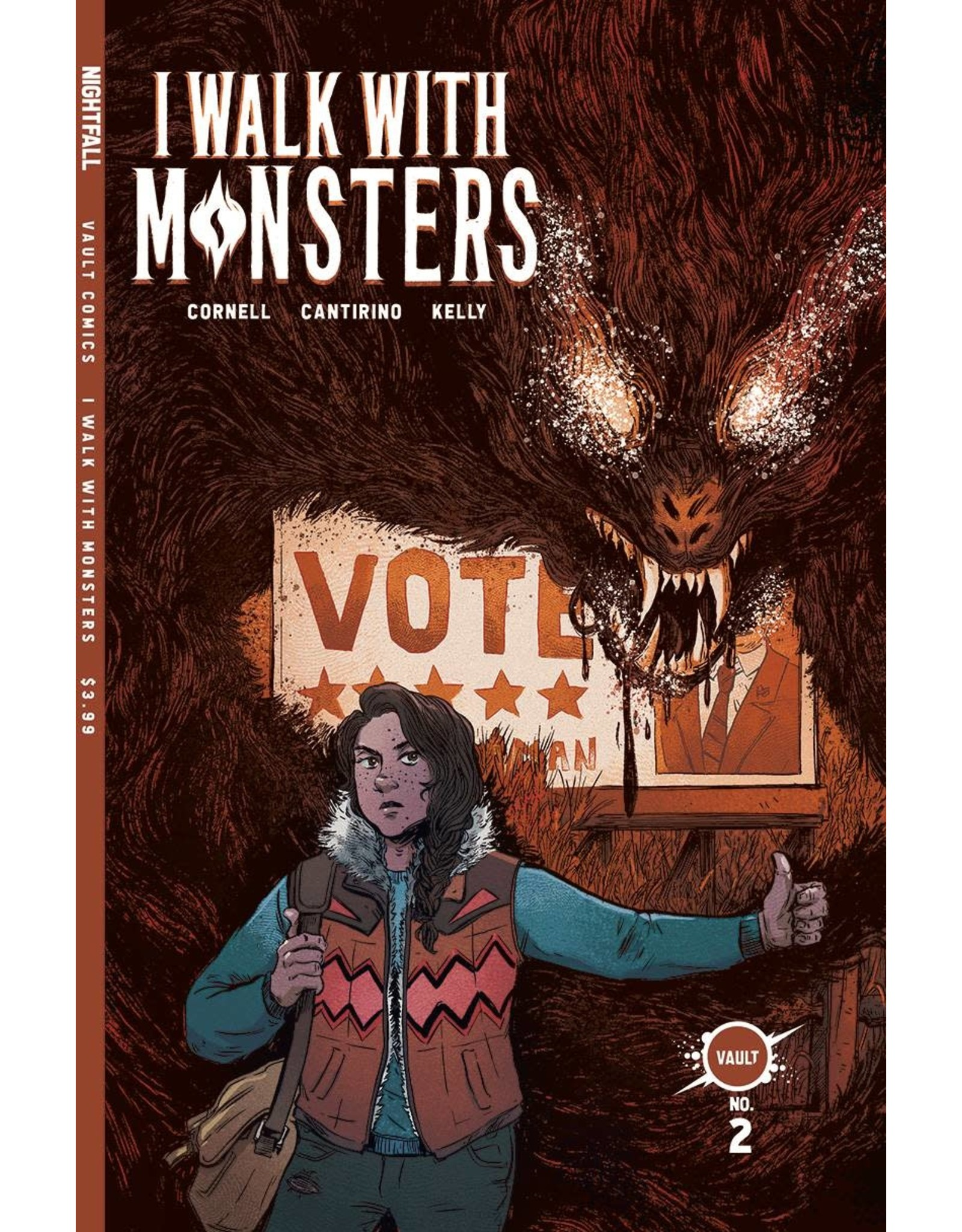 VAULT COMICS I WALK WITH MONSTERS #2 CVR A CANTIRINO