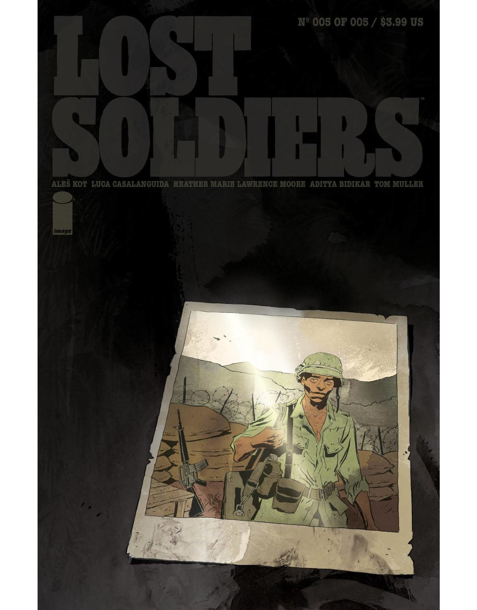 Image Comics LOST SOLDIERS #5 (OF 5)