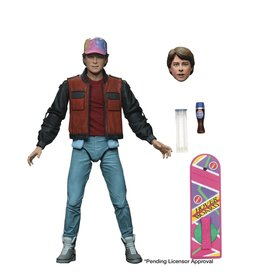 NECA BACK TO THE FUTURE 2 MARTY MCFLY ULTIMATE 7IN A