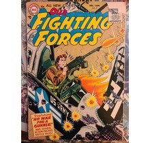 OUR FIGHTING FORCES #8 VG-