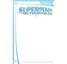 FUTURE STATE SUPERMAN OF METROPOLIS #1 (OF 2) CVR C BLANK CARD STOCK VAR