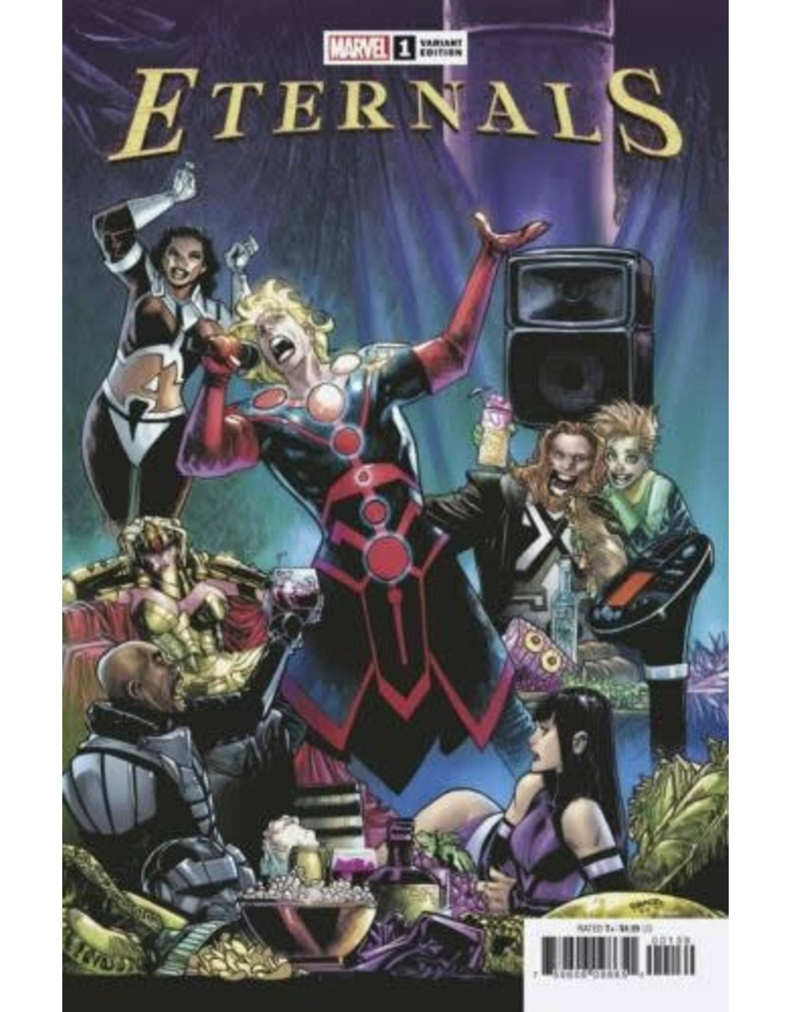 Marvel Comics ETERNALS #1 RAMOS LAUNCH VAR