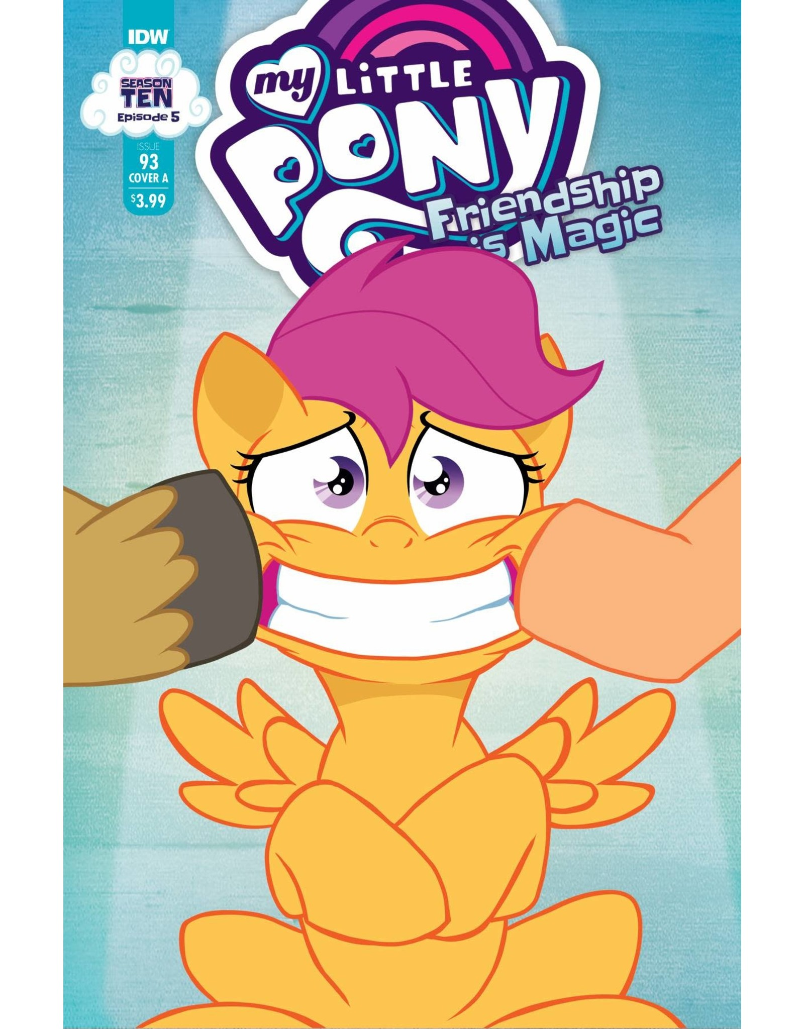 IDW PUBLISHING MY LITTLE PONY FRIENDSHIP IS MAGIC #93 CVR A  FORSTNER