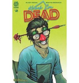 AFTERSHOCK COMICS KNOCK EM DEAD #2 ANDY CLARKE CVR