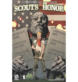AFTERSHOCK COMICS SCOUTS HONOR #1 ANDY CLARKE CVR