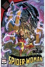 Marvel Comics SPIDER-WOMAN #8 GARRON MARVEL VS ALIEN VAR KIB