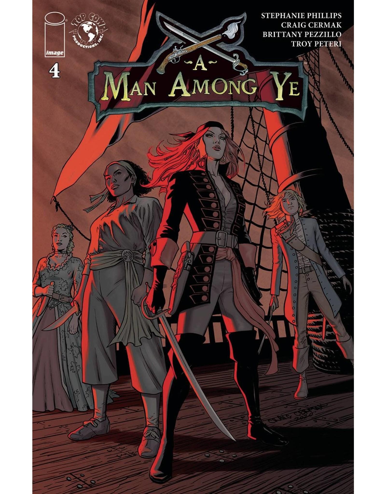 Image Comics A MAN AMONG YE #4