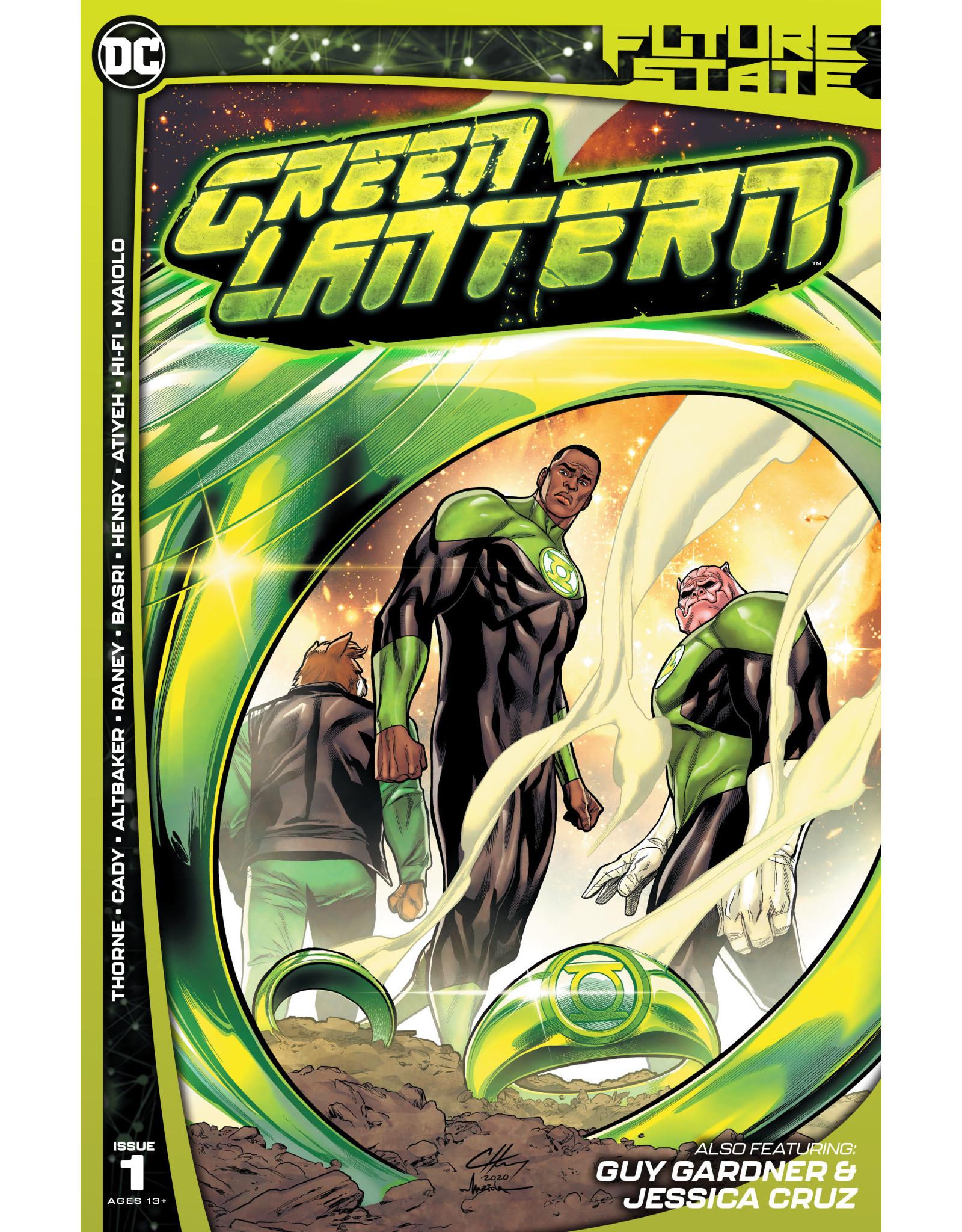 DC Comics FUTURE STATE GREEN LANTERN #1 (OF 2) CVR A CLAYTON HENRY