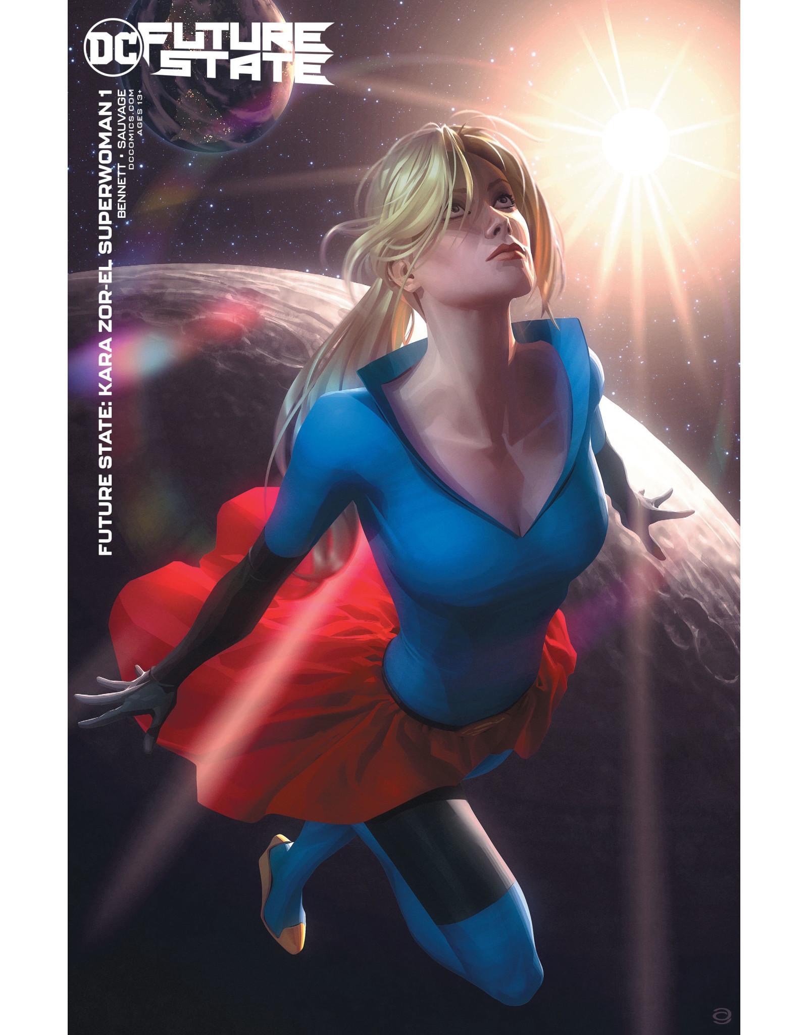 DC Comics FUTURE STATE KARA ZOR-EL SUPERWOMAN #1 (OF 2) CVR B ALEX GARNER CARD STOCK VAR