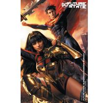 FUTURE STATE SUPERMAN WONDER WOMAN #1 (OF 2) CVR B JEREMY ROBERTS CARD STOCK VAR