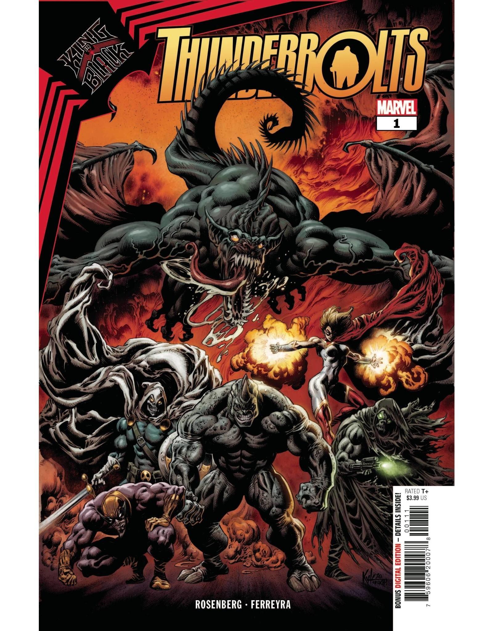 Marvel Comics KING IN BLACK THUNDERBOLTS #1 (OF 3)
