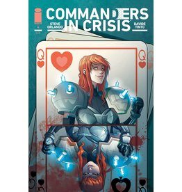 Image Comics COMMANDERS IN CRISIS #4 (OF 12) CVR A TINTO