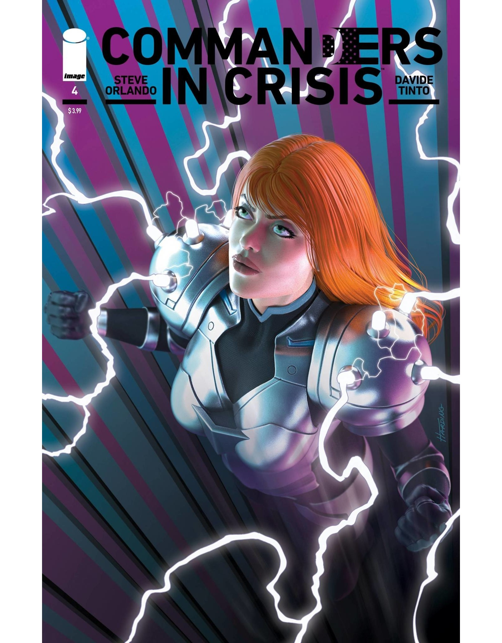 Image Comics COMMANDERS IN CRISIS #4 (OF 12) 1:10 HARDING