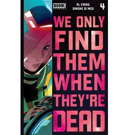 Boom! Studios WE ONLY FIND THEM WHEN THEYRE DEAD #4 2ND PTG
