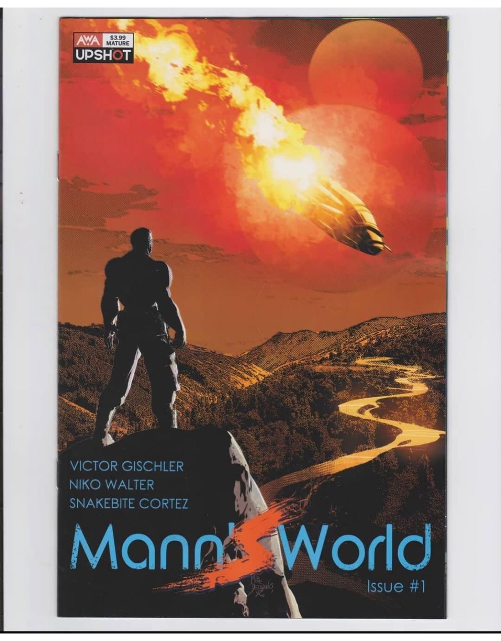 ARTISTS WRITERS & ARTISANS INC MANNS WORLD #1 CVR B DEODATO JR