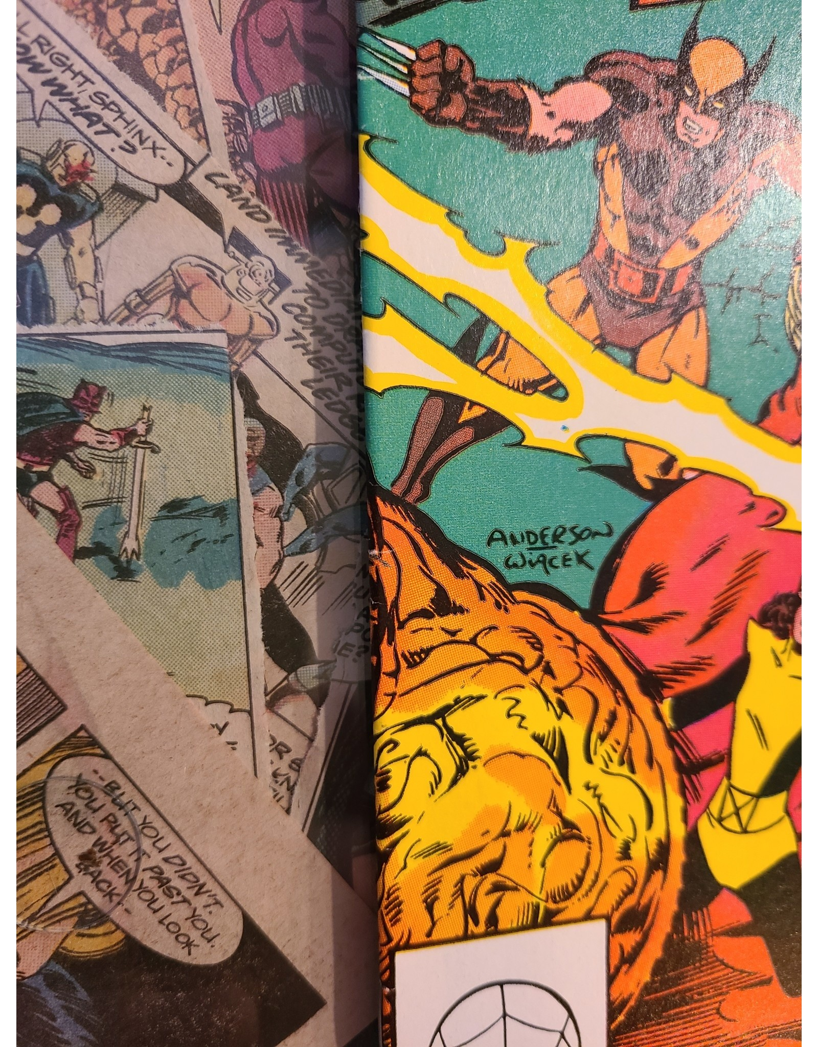 Marvel Comics UNCANNY X-MEN #160 1ST ILLYANA RASPUTIN VF