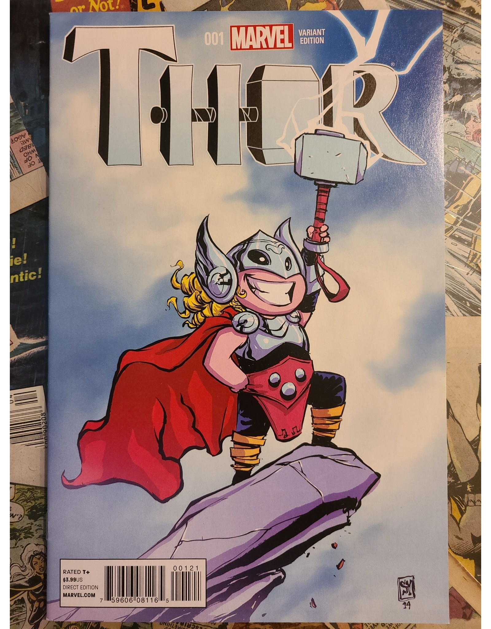 Marvel Comics THOR #1 1ST JANE FOSTER SKOTTIE YOUNG NM