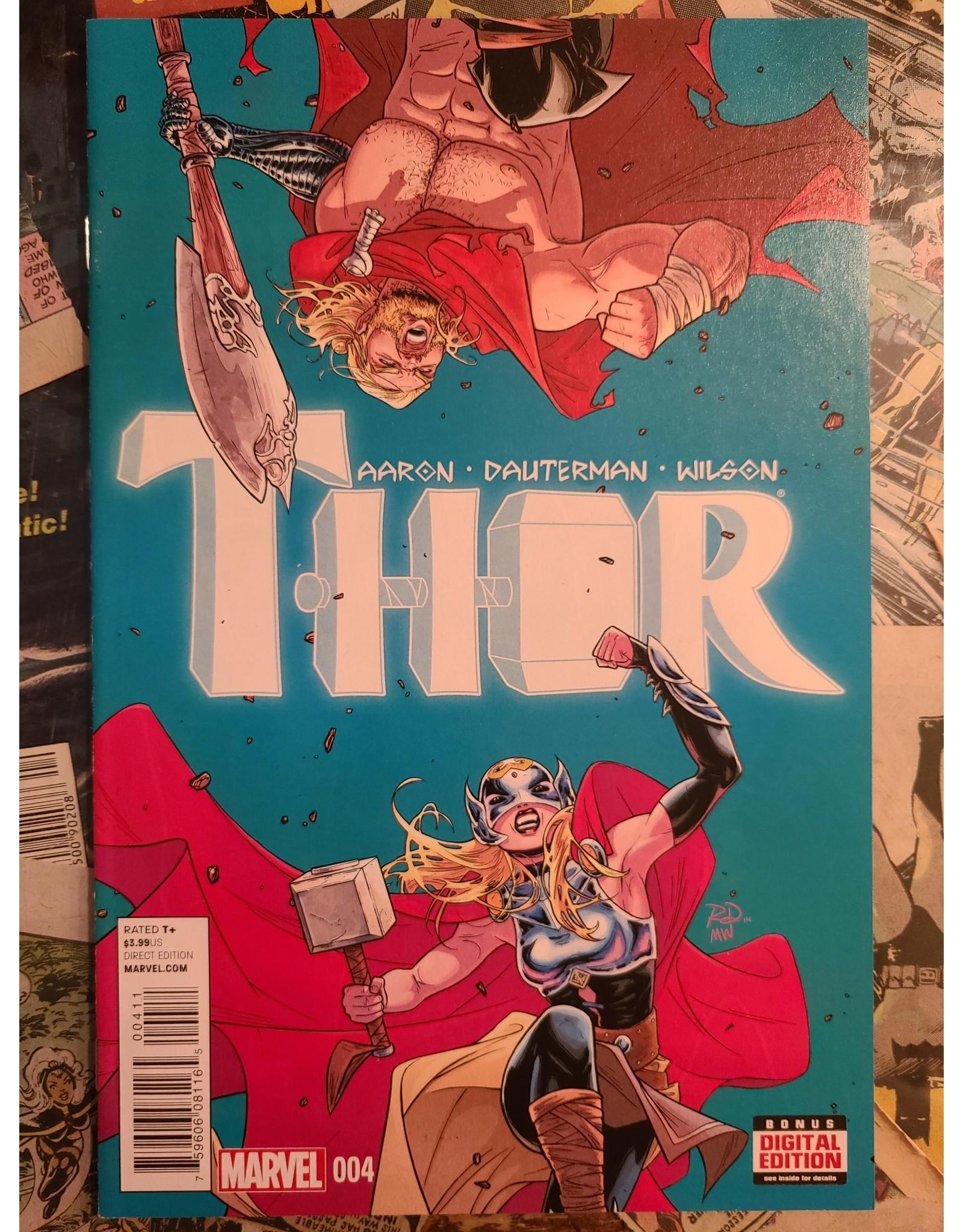 Marvel Comics THOR #4 JANE FOSTER NM-
