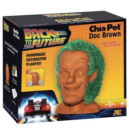General CHIA PET BACK TO THE FUTURE DOC BROWN