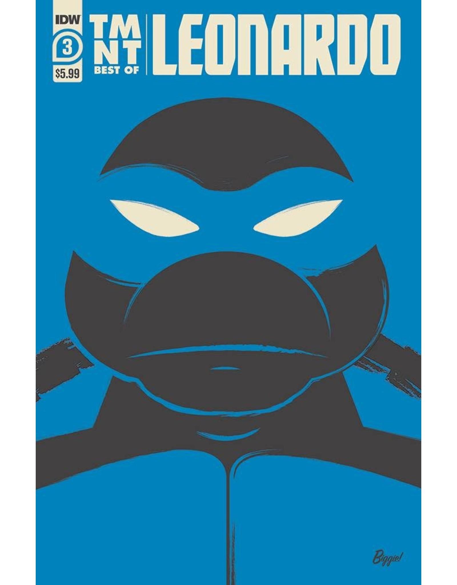 IDW PUBLISHING TMNT BEST OF LEONARDO