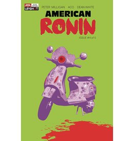 ARTISTS WRITERS & ARTISANS INC AMERICAN RONIN #4 (OF 5)