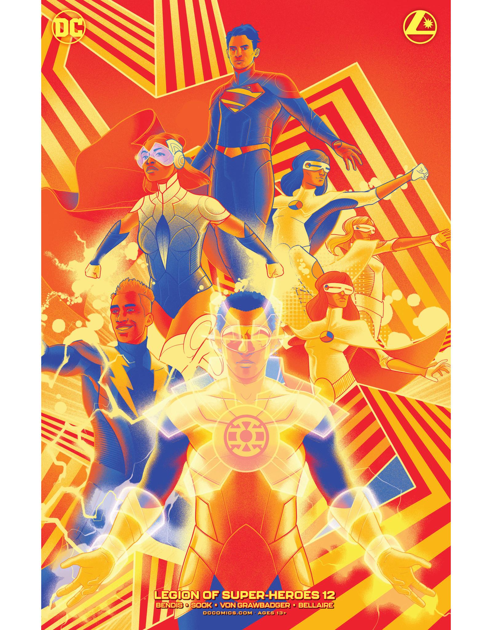 DC Comics LEGION OF SUPER-HEROES #12 CVR B MATT TAYLOR VAR