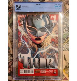 Marvel Comics THOR #1 2014 1ST JANE FOSTER AS THOR 9.8