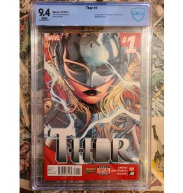 Marvel Comics THOR #1 2014 1ST JANE FOSTER AS THOR 9.4