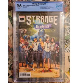 Marvel Comics STRANGE ACADEMY  #1 RAMOS 1:25 9.6