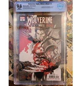 Marvel Comics WOLVERINE: BLACK, WHITE, BLOOD #2 SECRET VARIANT 9.8