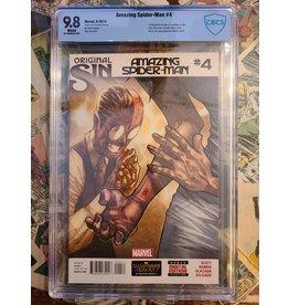 Marvel Comics AMAZING SPIDER-MAN #4 2014 9.8 1ST SILK
