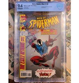 Marvel Comics WEB OF SPIDER-MAN 118 1ST SCARLET SPIDER 9.4