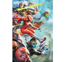 FUTURE STATE LEGION OF SUPER-HEROES #1 (OF 2) CVR B IAN MACDONALD CARD STOCK VAR