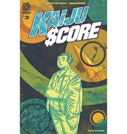AFTERSHOCK COMICS KAIJU SCORE #3