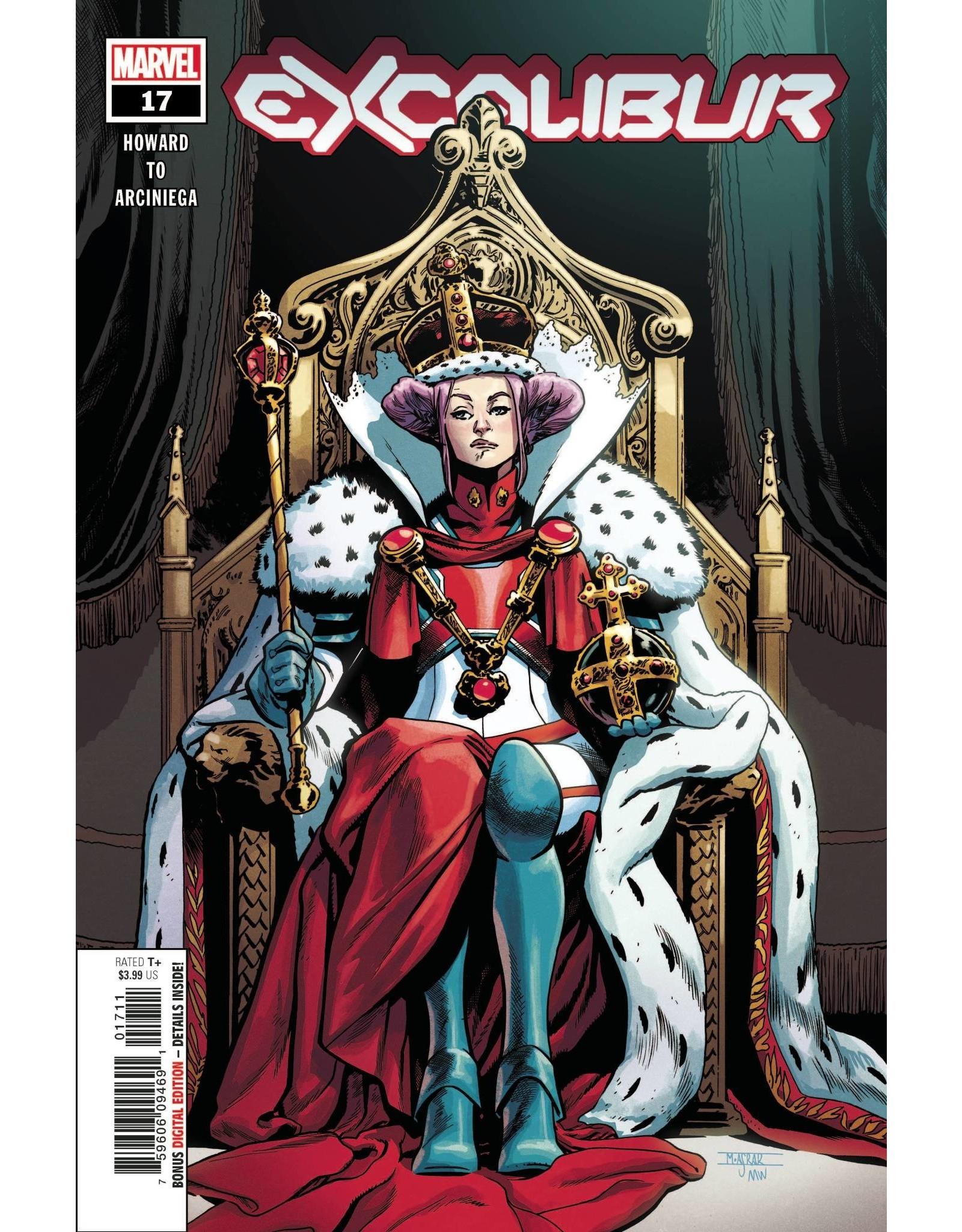 Marvel Comics EXCALIBUR #17